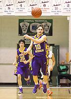 Boys JV Basketball vs Tech 1-16-15