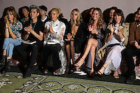 BURBERRY<br /> ALEXA CHANG, JESSICA HART, CAR DELEVINGNE, CHRIS WU, LILY JAMES, ADWOA ABOH<br /> London Fashion Week, Ready to Wear, FW17<br /> on September 19, 2016<br /> CAP/GOL<br /> &copy;GOL/Capital Pictures /MediaPunch ***NORTH AND SOUTH AMERICAS ONLY***