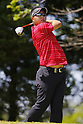 Shunsuke Sonoda, MAY 13, 2012 - Golf : Shunsuke Sonoda tees off on the 15th hole during the PGA Championship Nissin Cupnoodles Cup 2012 final round at Karasuyamajo Country Club, Tochigi, Japan. (Photo by Yusuke Nakanishi/AFLO SPORT) [1090]