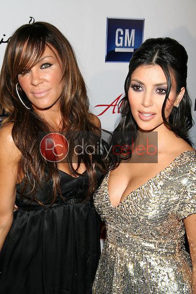 Robin Antin and Kim Kardashian<br />at Celebrity Catwalk for Charity. The Highlands Nightclub, Hollywood, CA. 08-16-07<br />Dave Edwards/DailyCeleb.com 818-249-4998