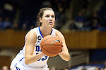 14 November 2013: Duke's Haley Peters. The Duke University Blue Devils played the University of South Carolina Upstate Spartans at Cameron Indoor Stadium in Durham, North Carolina in a 2013-14 NCAA Division I Women's Basketball game. Duke won the game 123-40.