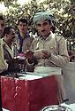 Iraq 1968 Dispensary organized by the peshmergas in a village  Irak 1968 Dispensaire mis en place par les peshmergas dans un village