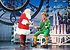 Elf <br /> by Thomas Meehan and Bob Martin <br /> at the Dominion Theatre, London, Great Britain <br /> press photocall <br /> 2nd November 2015 <br /> Mark McKerracher as Santa <br /> Ben Forster as Buddy <br /> <br /> <br /> <br /> Photograph by Elliott Franks <br /> Image licensed to Elliott Franks Photography Services