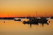 Rye Harbor at sunrise in Rye, New Hampshire USA.