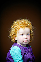 Esther McKay, 2, from Perth.