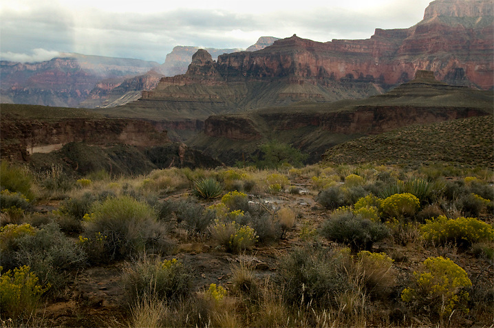 Fall storms on the Tonto Plateau.<br />