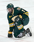 Michael Paliotta (UVM - 2) - The Boston College Eagles defeated the University of Vermont Catamounts 4-1 on Friday, February 1, 2013, at Kelley Rink in Conte Forum in Chestnut Hill, Massachusetts.