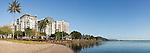 The Cairns Esplanade.  Cairns, Queensland, Australia