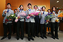 Sochi Olympic Games Japan Delegation visits the Ministry of Education, Culture, Sports