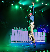 LAS VEGAS, NV - September 18, 2016: ***HOUSE COVERAGE*** Chancelor Bennett AKA Chance The Rapper performs at Brooklyn Bowl in Las vegas, NV on September 18, 2016. Credit: Erik Kabik Photography/ MediaPunch