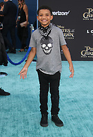 """HOLLYWOOD, CA - May 18: Lonnie Chavis, At Premiere Of Disney's """"Pirates Of The Caribbean: Dead Men Tell No Tales"""" At Dolby Theatre In California on May 18, 2017. Credit: FS/MediaPunch"""