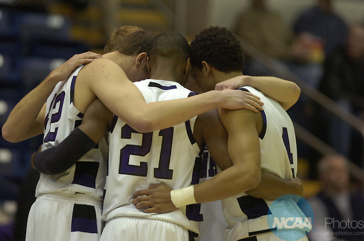 24 MAR 2007: Winona State University takes on Barton College during the Division II Men's Basketball Championship held at the MassMutual Center in Springfield, MA.  Barton defeated Winona State 77-75 for the national title.  Suzanne Ouellette/NCAA Photos