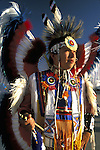 "Native American @ southwest powwow - dressed in traditional hand made regalia - Window Rock Fair, Window Rock, NM .... A pow-wow (also powwow or pow wow or pau wau) is a gathering of North America's Native people. The word derives from the Narragansett word powwaw, meaning ""spiritual leader""."