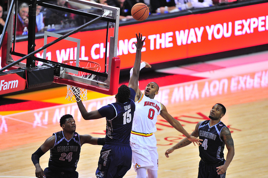 Maryland Terrapins vs. Georgetown Hoyas, November 17, 2015