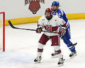 Phil Boje (AFA - 4), Jake Horton (Harvard - 19) - The Harvard University Crimson defeated the Air Force Academy Falcons 3-2 in the NCAA East Regional final on Saturday, March 25, 2017, at the Dunkin' Donuts Center in Providence, Rhode Island.