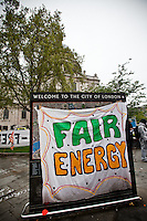 03.05.2012 - Protest against the UK Energy Summit 2012