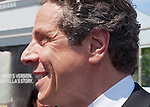 MAY 30, 2011 - Little Neck, New York, U.S. - New York Governor ANDREW CUOMO  (Democrat), closeup, marching in Little Neck-Douglaston Memorial Day Parade, which honors America's veterans, on Northern Boulevard.