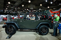 The 2015 Jeep Wrangler Willys Wheeler is exhibit at the 2015 New York International Auto Show in New York City. 04.06.2015. Kena Betancur/VIEWpress.