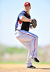 1 March 2010: Washington Nationals' relief pitcher Ron Villone on the mound during Spring Training at the Carl Barger Baseball Complex in Viera, Florida. Mandatory Credit: Ed Wolfstein Photo