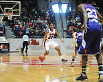 Ole MIss' Amber Singletary (20) vs. Northwestern State in women's college basketball action in Oxford, Miss. on Friday, November 16, 2012.