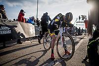 Jim Aernouts (BEL/Telenet-Fidea) after the race<br /> <br /> Men's Race<br /> CX Soudal Classics Leuven/Belgium 2017