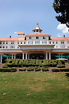 June 24, 2010. Pinehurst, North Carolina.. The front entrance of the Pinehurst Golf Resort.