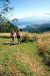 Hawaii: Maui, Couple hiking, Waihee River, model released. Photo: himaui101  .Photo copyright Lee Foster, www.fostertravel.com, 510/549-2202, lee@fostertravel.com