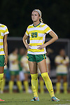 04 September 2015: Oregon's Mia Costa. The North Carolina State University Wolfpack hosted the Oregon University Ducks at Dail Soccer Field in Raleigh, NC in a 2015 NCAA Division I Women's Soccer game. NC State won the game 2-0.