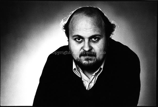 Osvaldo Soriano, (1943-1997) Argentinian writer in march 1980.