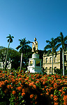 Hawaii: Honolulu, Statue of King Kamehameha I. Photo:hihono104.Photo copyright Lee Foster, 510/549-2202, lee@fostertravel.com, www.fostertravel.com