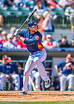 4 March 2016: Houston Astros outfielder Jake Marisnick in action during a Spring Training pre-season game against the St. Louis Cardinals at Osceola County Stadium in Kissimmee, Florida. The Astros defeated the Cardinals 6-3 in Grapefruit League play. Mandatory Credit: Ed Wolfstein Photo *** RAW (NEF) Image File Available ***