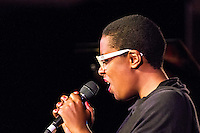 Cécile McLorin Salvant at the 2014 Monterey Jazz Festival