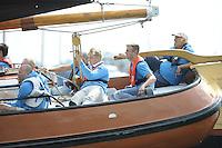 ZEILEN: HEEG: Hegemer Mar, 16-08-2016, IFKS Skûtsjesilen, Gerrit Huisman, ©foto Martin de Jong