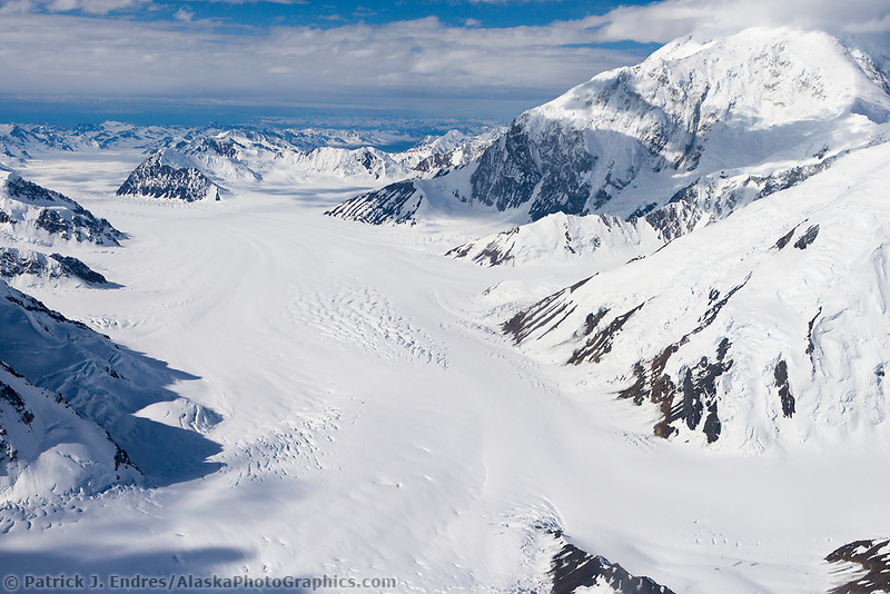 Kahiltna glacier, Denali, Denali National Park, Alaska