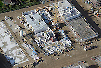Gleisdreieck Asylanten Wohnungsbau  : EUROPA, DEUTSCHLAND, HAMBURG 08.10.2016: im Bau befindliches Wohngebiet Gleisdreieck Mittlerer Landweg