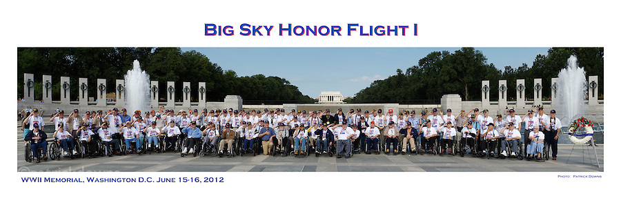 12x36 pano, Big Sky Honor Flight I