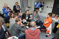 SPEED SKATING: CALGARY: Olympic Oval, 08-03-2015, ISU World Championships Allround,  Nederlandse pers, Sven Kramer (NED), ©foto Martin de Jong