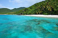 Little Cinnamon Bay<br /> Virgin Islands National Park<br /> St. John<br /> U.S. Virgin Islands
