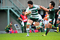 Takeshi Murata (Green Rockets), November 12, 2011 - Rugby : Japan Rugby Top League 2011-2012, 3rd Sec match between NEC Green Rockets 29-26 TOYOTA Verblitz at Chichibunomiya Rugby Stadium, Tokyo, Japan. (Photo by Jun Tsukida/AFLO SPORT) [0003]