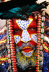 Portrait of Panga man, Papua New Guinea