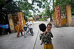 Entry way into the Giac Vien Pagoda in District 11 in Ho Chi Minh City, Vietnam. Photo taken Monday, May 3, 2010...Kevin German / LUCEO