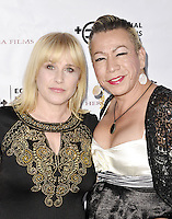 "BEVERLY HILLS, CA - AUGUST 26: Patricia Arquette and Bamby Salcedo attend the ""Equal Means Equal"" Special Screening at the Music Hall on August 20, 2016 in Beverly Hills, CA. Koi Sojer, Snap'N U Photos / MediaPunch"