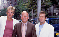 Dick Van Patten with sons Nels &amp; Jimmy<br />