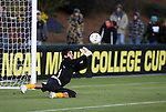 11 December 2009: Wake Forest's Akira Fitzgerald. The University of Virginia Cavaliers defeated the Wake Forest University Demon Deacons 2-1 after overtime at WakeMed Soccer Stadium in Cary, North Carolina in an NCAA Division I Men's College Cup Semifinal game.