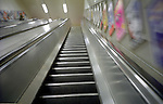 stairs in a train station. London