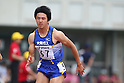 Masashi Eriguchi, ..JUNE 12, 2011 - Athletics : ..The 95th Japan Track & Field National Championships ..Men's 100m semi-final ..at Kumagaya Stadium, Saitama, Japan. ..(Photo by YUTAKA/AFLO SPORT) [1040]