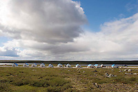 Peregrine Diamonds Mining Exploration Camp, Northwest Territories