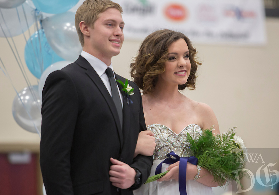 NWA Democrat-Gazette/JASON IVESTER --01/29/2015--<br /> Springdale Har-Ber Winter Homecoming