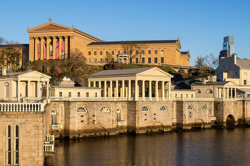 The Fairmount Water Works and art museum, Philadelphia, Pa ...: miraimages.photoshelter.com/image/I0000XcUw9JPfg5E