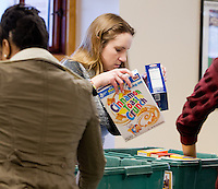 Lisa Keller, HESA. Martin Luther King Jr. celebration activites. Food Drive.